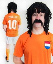 Ruud Gullit Holland Football Fancy Dress Costume